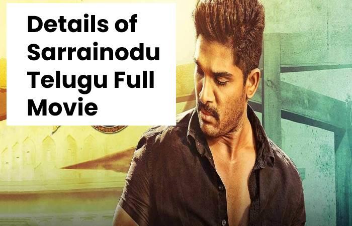 Details of Sarrainodu Telugu Full Movie Watch Online Movierulz